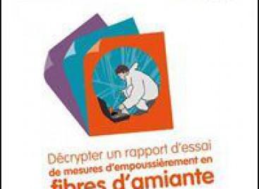 Amiante : deux nouvelles brochures pour évaluer les risques d'exposition