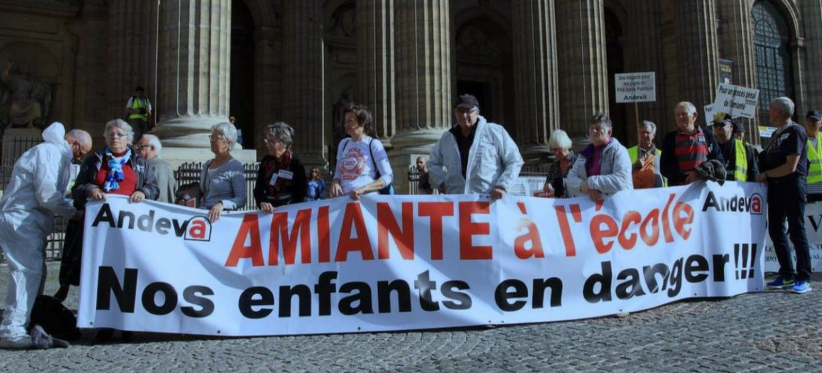 Amiante à l'école: 13 associations interpellent le ministre de l'Education nationale